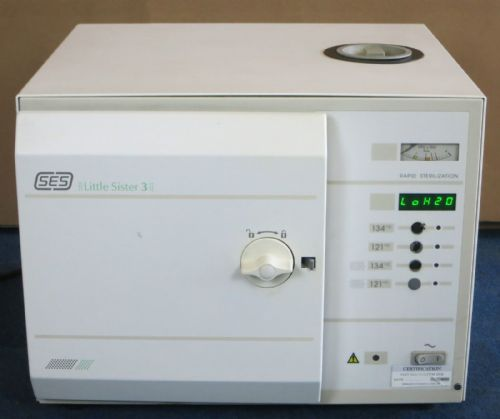 ESCHMANN SES Little Sister 3 Medical Rapid Sterilization Autoclave for Dental ++